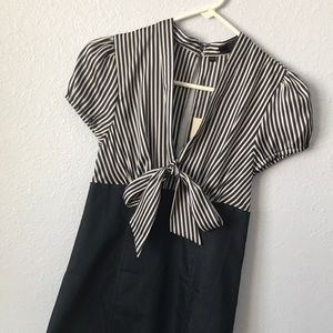 NWT Guess size 3 striped body com dress
